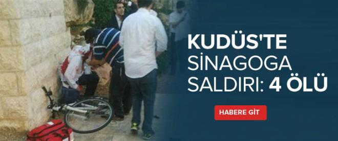 Kudüs'te sinagoga saldırı