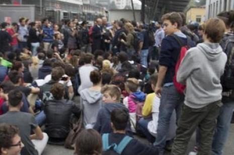 Öğrenciler ayaklandı !