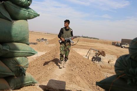 Irak'ta Türkmen bölgesine Peşmerge konuşlandırıldı