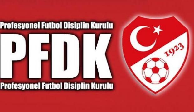 PFDKdan 3 kulübe ceza!