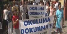 Kadıköyde İmam Hatip protestosu