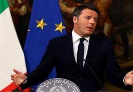 İtalya'da Başbakan Renzi'den istifa kararı