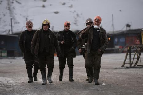 """Rusya """"o işçileri"""" kurtardı"""