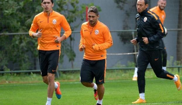 Sabri Sarıoğlu antrenmana çıktı