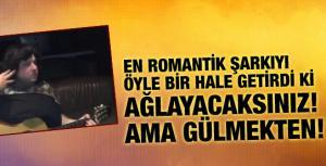 Şahan Gökbakar genç şarkıcıyı ağlattı!