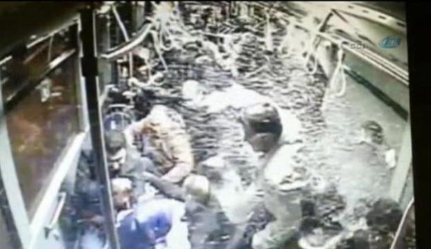 Saniye saniye metrobüs kazası