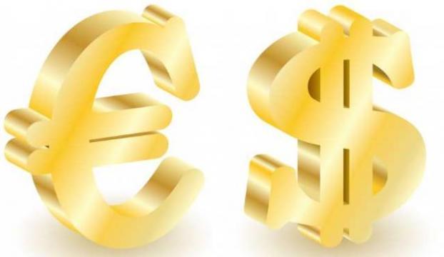 Dolar günü 2,233 TL, Euro 2,831 TLden kapattı