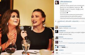Serenay Sarıkaya Sibel Can ile düet yaptı
