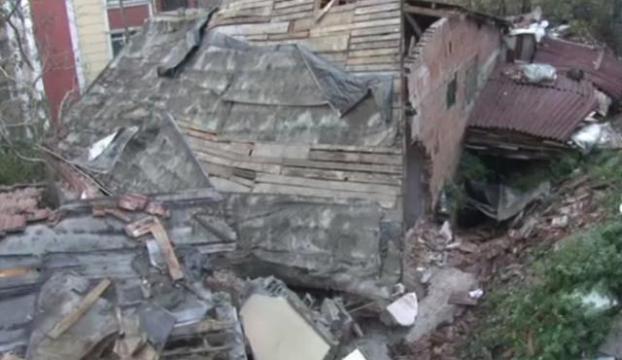 Şişlide istinat duvarı çöktü: 1 işçi göçük altında kaldı