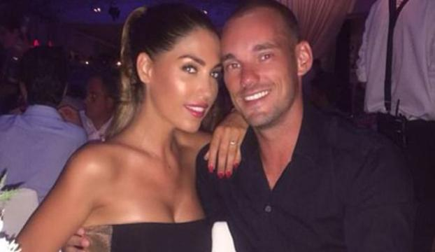 Sneijderi 2. kez baba olma heyecanı sardı