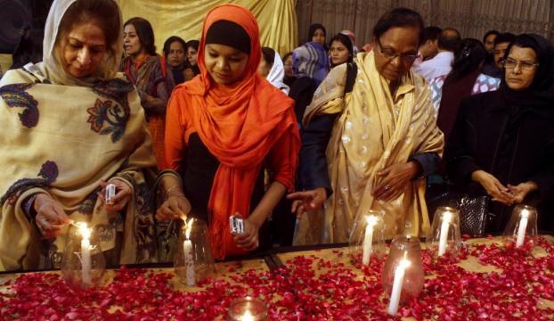 Pakistanda cenaze töreni düzenlendi