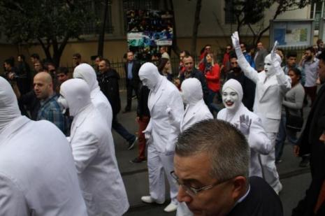 """Taksimde """"Voca People"""" izdihamı"""