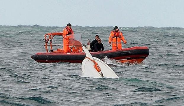 Silivride tekne alabora oldu