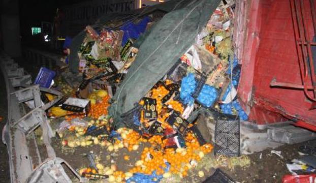 TEMde meyve ve sebzeler yola saçıldı