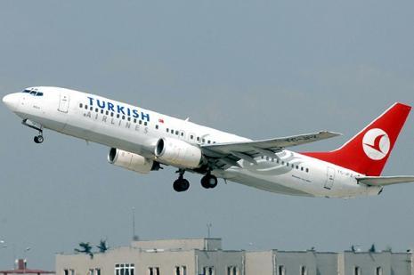 THY uçağında Ebola paniği