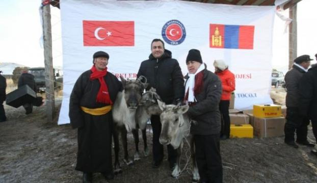 Türkiyeden Dukha Türklerine anlamlı hediye