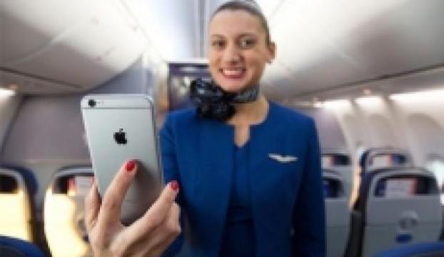United Airlines, çalışanlarına iPhone 6 Plus dağıtacak