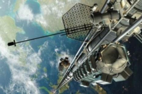 Uzaya asansörle çıkmak kim istemez?
