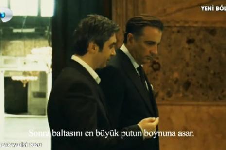 Polat Alemdar ve Amon buluştu