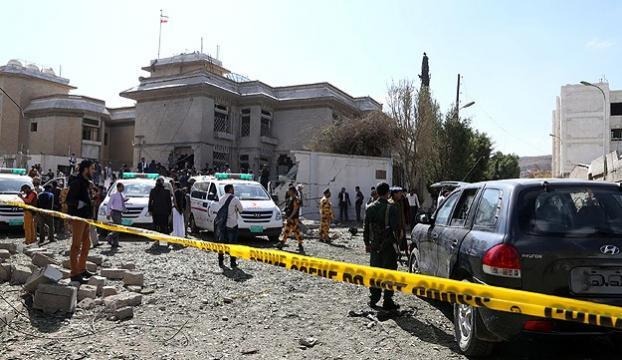 İran büyükelçisine saldırı