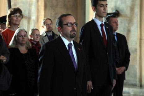 ABDnin Ankara Büyükelçisi Anıtkabirde