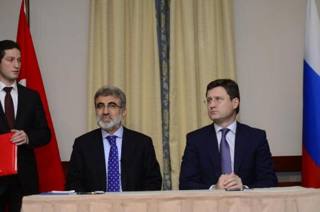 Bakan Yıldız: 'Türkiye ve Rusya Mavi Akım'ı geliştirmek istiyor'