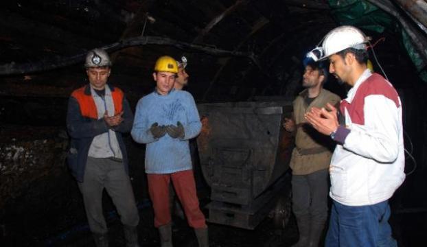 Zonguldaklı madenciler Karamanı unutmadı